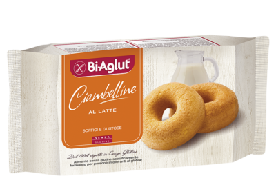 Ciambellina al latte Biaglut