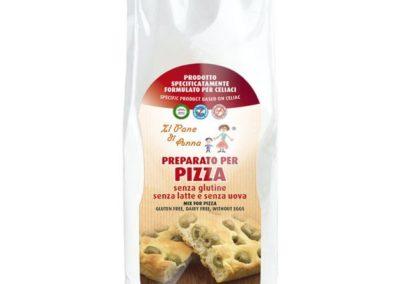 Preparato per Pizza senza glutine Il Pane di Anna