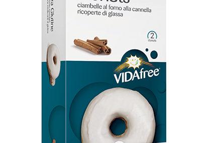Donuts alla cannella ricoperti di glassa VitaFree