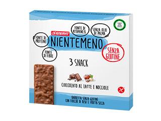 Barretta cioccolato al latte e nocciole Enervit