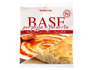Base pizza/focaccia surgelata Farma&Co