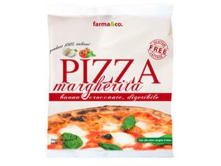 Pizza margherita surgelata Farma&Co