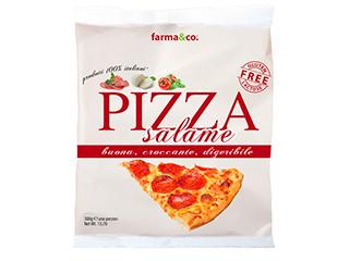 Pizza surgelata al salame piccante Farma&Co