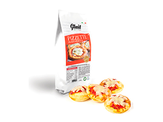 Pizzette Margherita Gluit