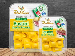 Bustini speck e provola Pasta di Venezia