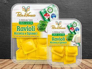 Ravioli ricotta e spinaci Pasta di Venezia