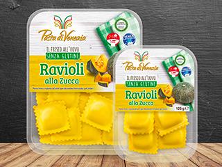 Ravioli di zucca Pasta di Venezia