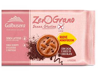 Zerograno Frollini con gocce di cioccolato Galbusera
