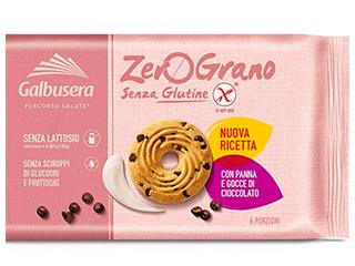Zerograno Frollini panna e gocce di cacao Galbusera