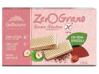 Zerograno wafer con crema di nocciola senza glutine Galbusera