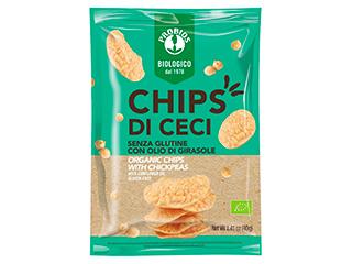 Chips di ceci Probios