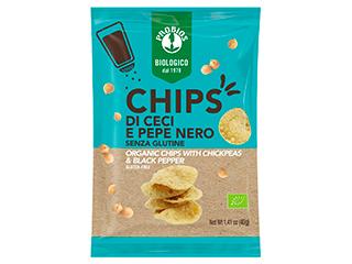 Chips di ceci e pepe nero Probios