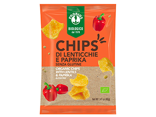 Chips lenticchie e paprika Probios