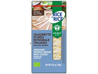 Quadrette di riso senza sale Probios