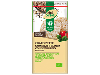 Quadrette Saraceno e Quinoa Probios